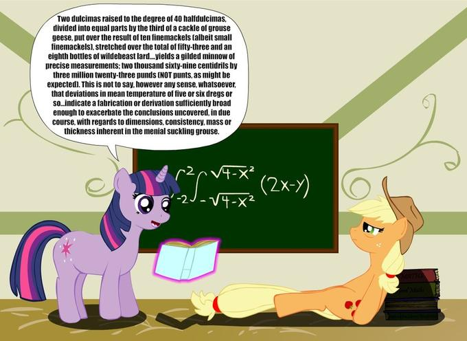 twilight_teaches_applejack_by_tamarapeluso-d3hheoh.jpg