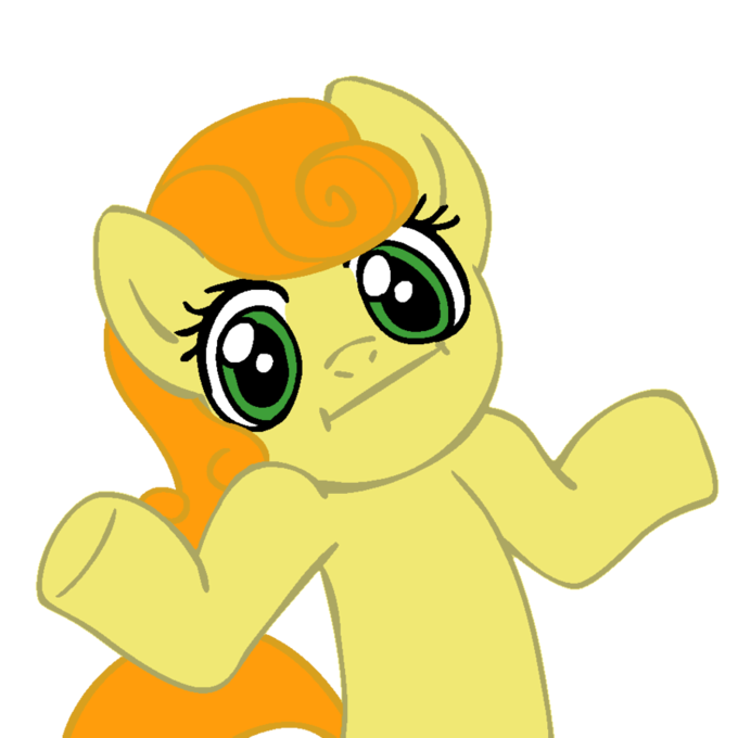 shrugpony_carrottop_by_moongazeponies-d3cvjsa.png