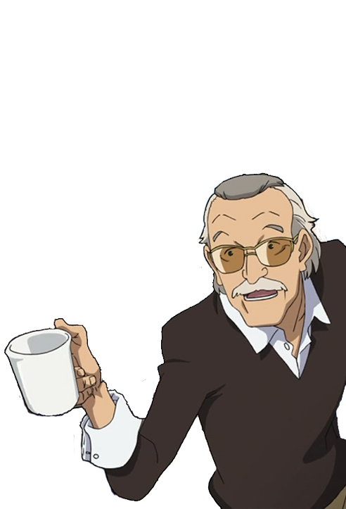 stan lee asking for coffee know your meme