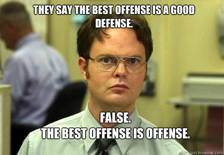 Image result for dwight schrute false