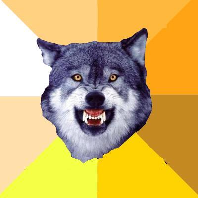 courage wolf know your meme