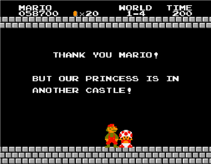 But Our Princess is in Another Castle! | Know Your Meme
