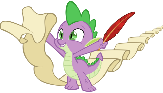 spike_has_a_big_scroll_by_spinnyhat-d4d2ax0.png