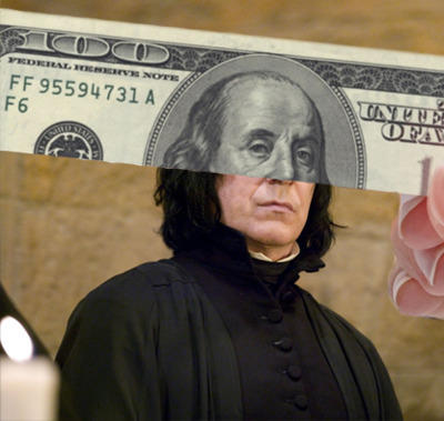Moneyface: Snape Edition