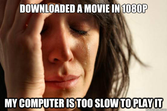 Movie Won't Play