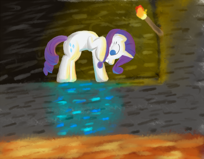 84575+-+Minecraft+artist+tggeko+diamond+lava+rarity.png