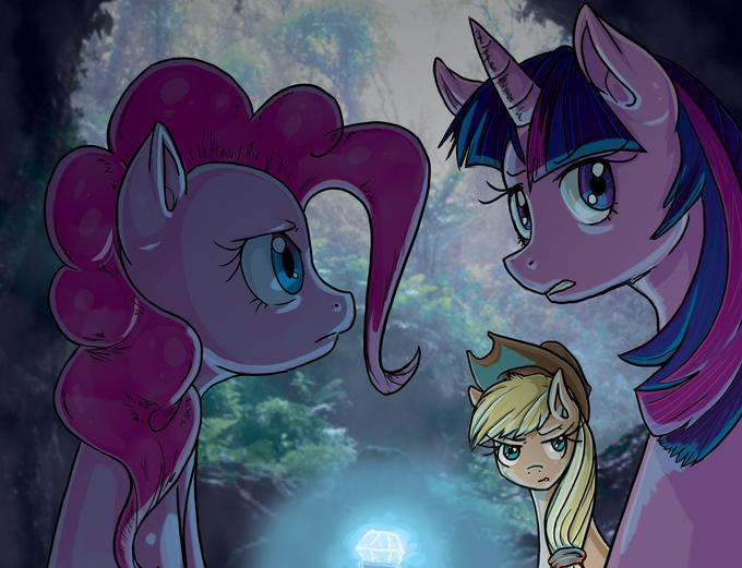 ponies_go_cave_explorin___by_irenezelle-d4hs88a.jpg