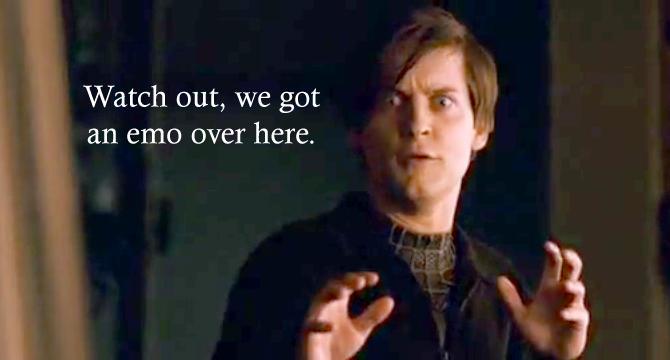 Peter Parker Tyson Reaction