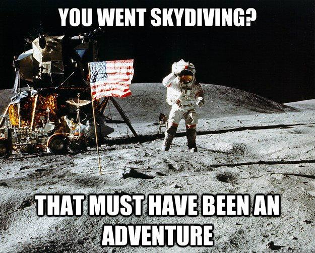 35f4eb?1323125160 unimpressed astronaut know your meme,Moon Landing Meme
