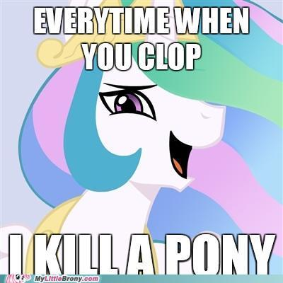 my little pony clopping is magic