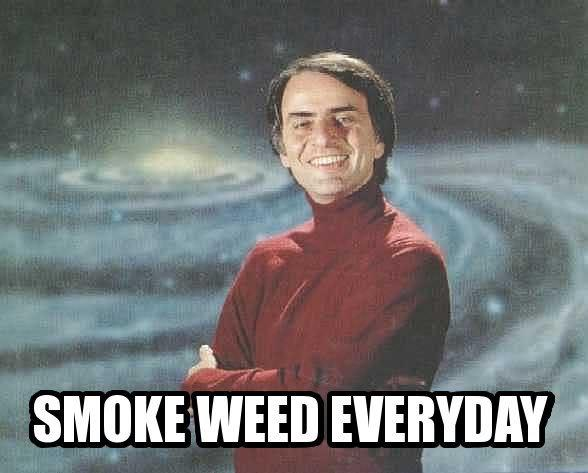 d49 image 242293] smoke weed everyday know your meme