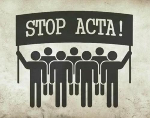 Non à l'ACTA ! Non à la criminalisation du partage !