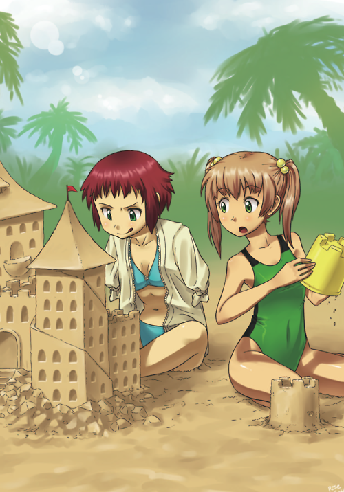 Sandcastles, by Pimmy