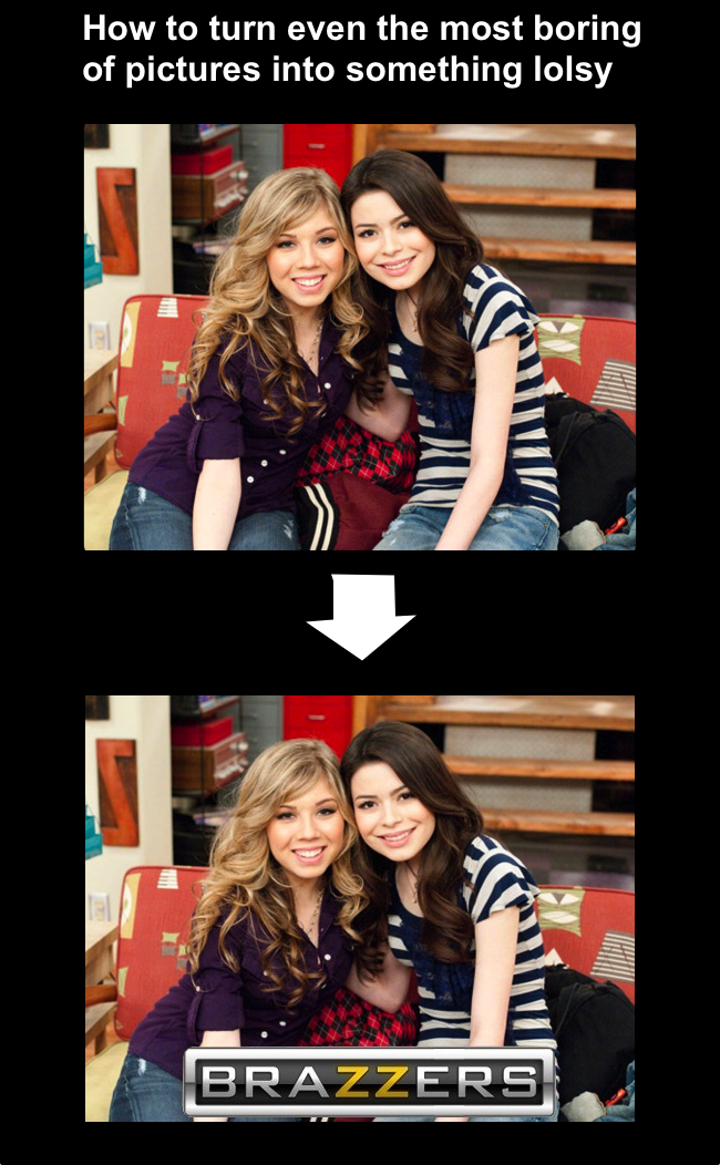 iCarly Brazzers Meme