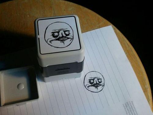 Me Stamp-sta!