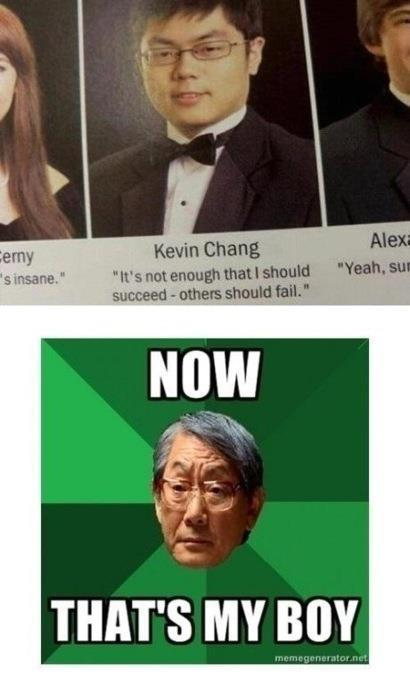 The Asian Dwight Schrute
