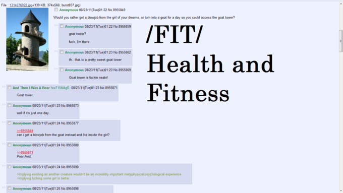 /fit/ Loves Goat Tower