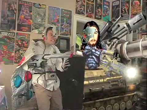 AVGN in his battle costume
