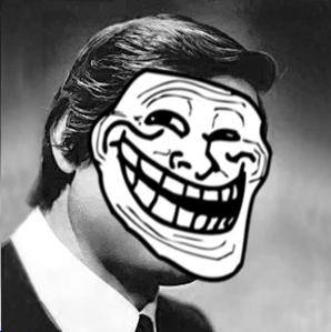Edward Hill and His Trollface