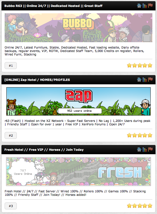 Habbo Retros
