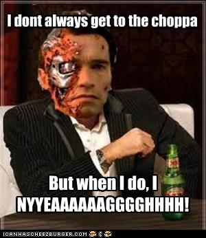 The most interesting Schwarzenegger in the world