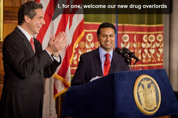 I, for one, welcome our new drug overlords
