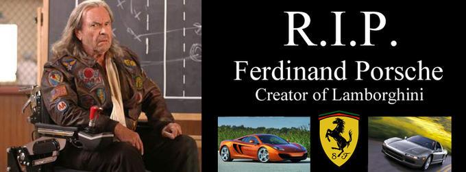 RIP Ferdinand Porsche