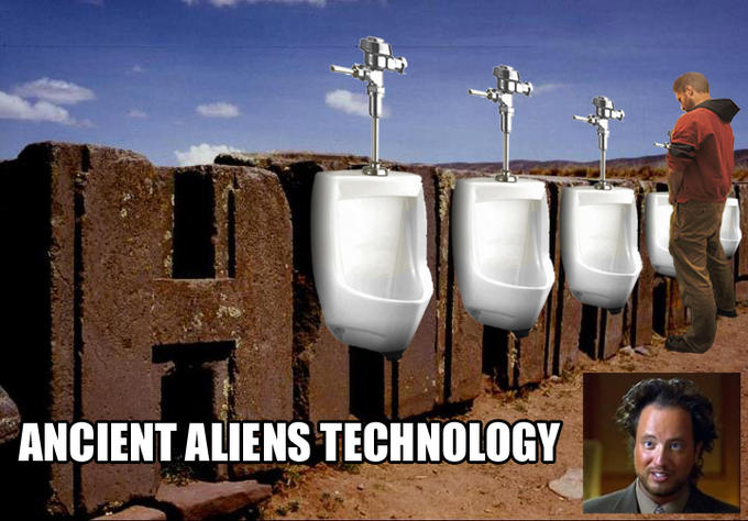 Ancient Aliens Technology