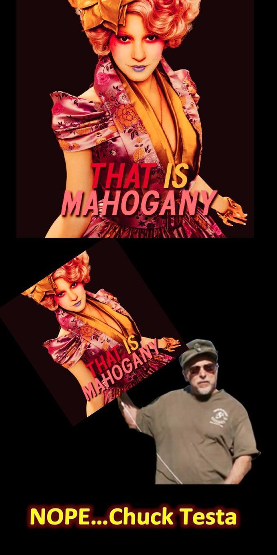 Mahogany? NOPE