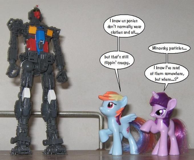 Ponys and Gundams