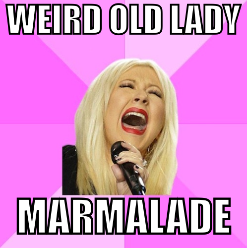 lady marmalade text