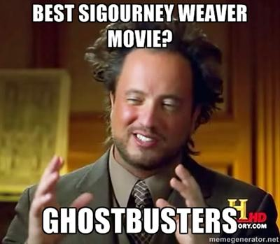 Giorgio A. Tsoukalos' favorite Sigourney Weaver movie?