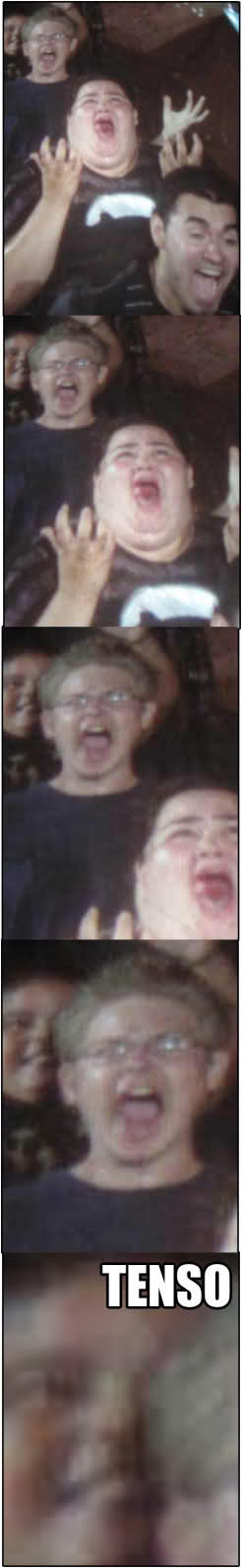 Roller Coaster Ride Tenso