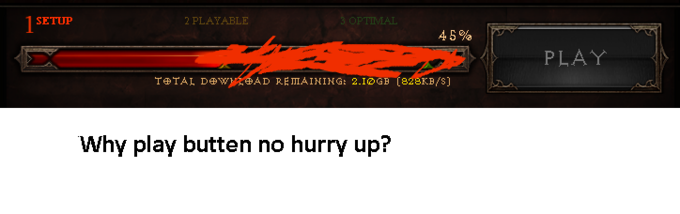 Why you no LODANIG faster?