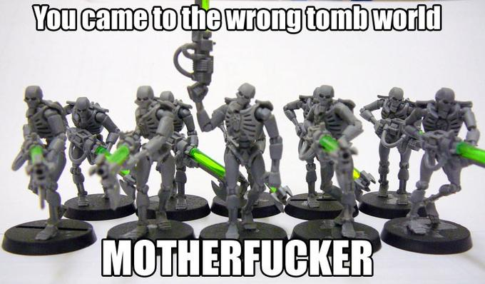 You Came to the Wrong Tomb World Motherfucker