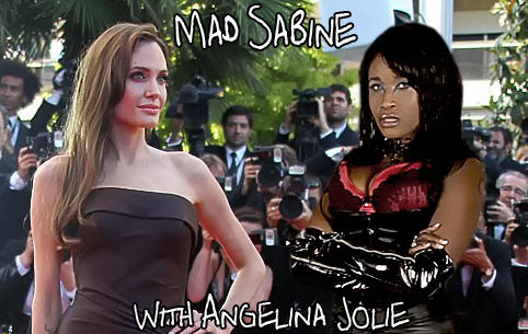 Mad Sabine Mondestin With Angelina Jolie