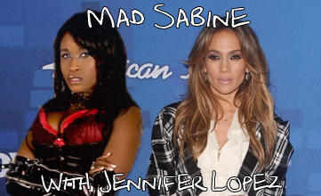 Mad Sabine Mondestin with Jennifer Lopez