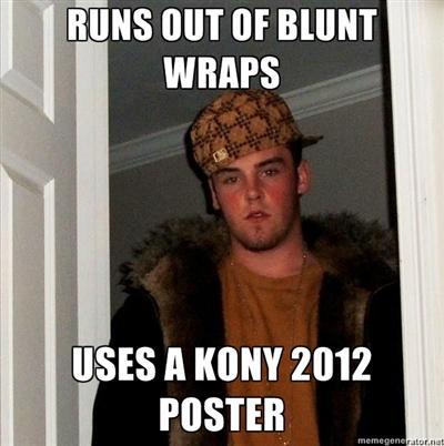 3ed scumbag kony kony 2012 know your meme,Kony Meme