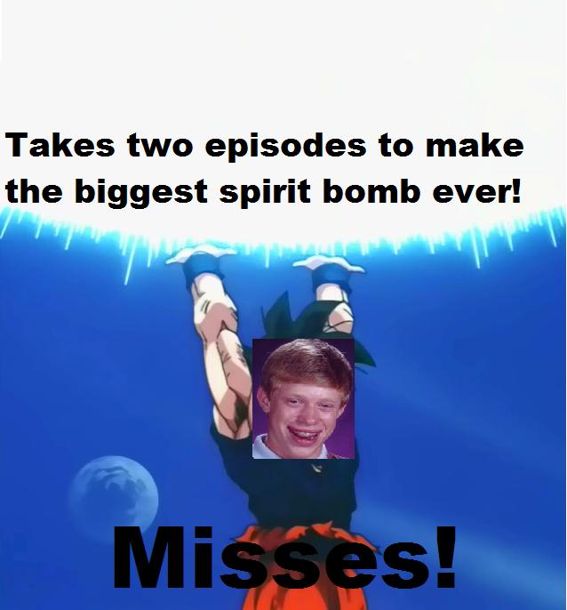 Bad Luck Goku