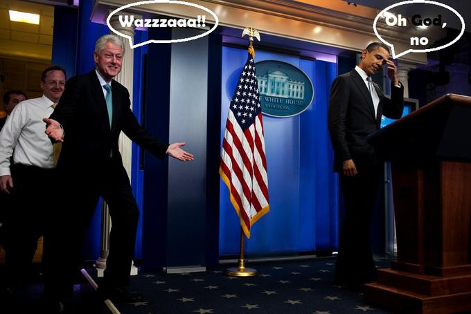 The Surprise Trip to the Briefing Room