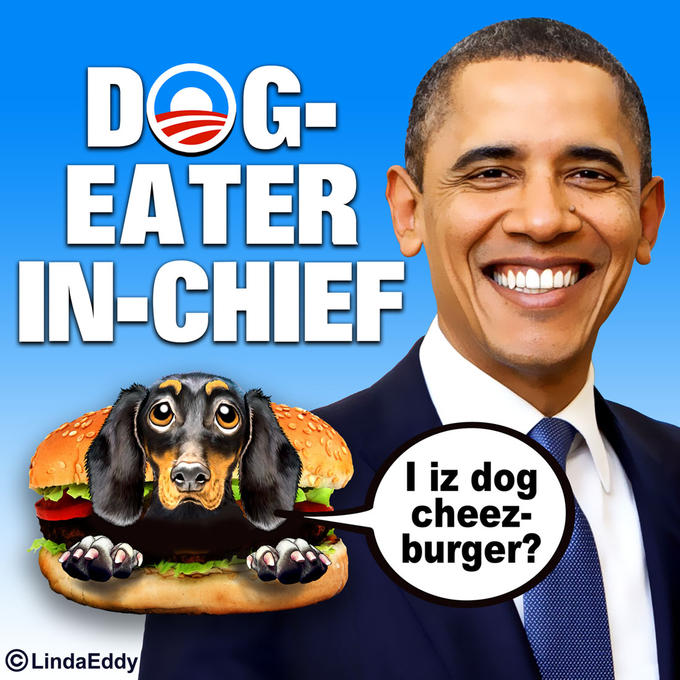 Obama: Dog-Eater-In-Chief