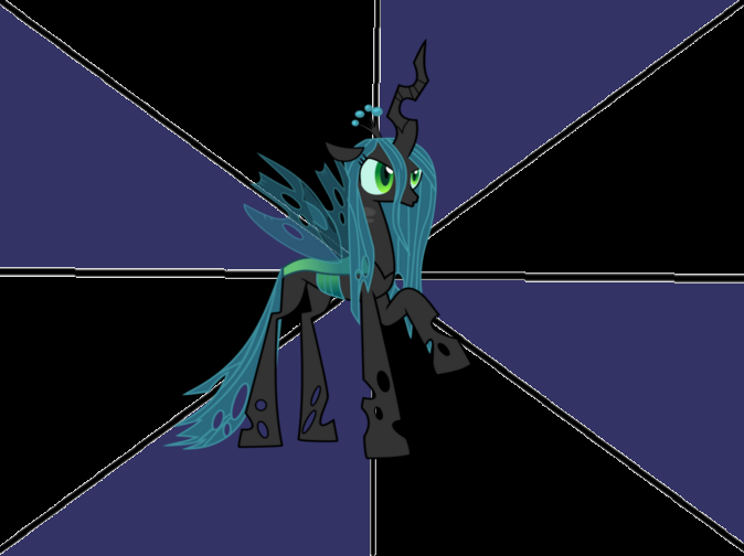 Queen Chrysalis meme template