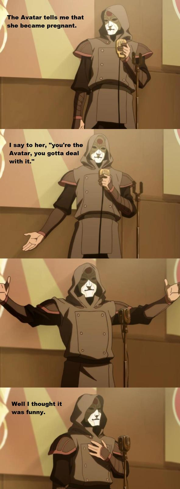Amon's bad Joke