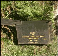 Cranmere Pool Tin Letterbox, 1888