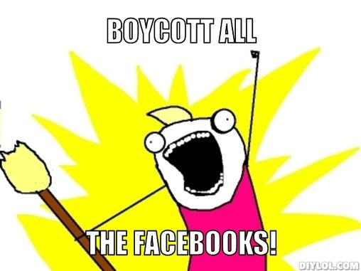 Boycott ALL The Facebooks! - CISPA