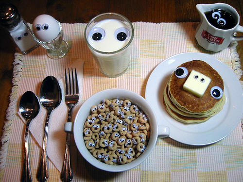 Good Morning Mr. Breakfast!