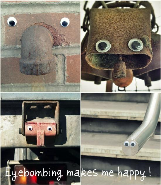 Eyebombing Makes Me Happy!