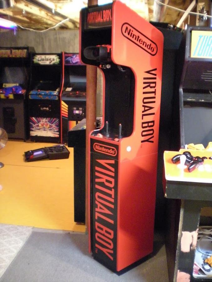 Virtual Boy Arcade Cabinet