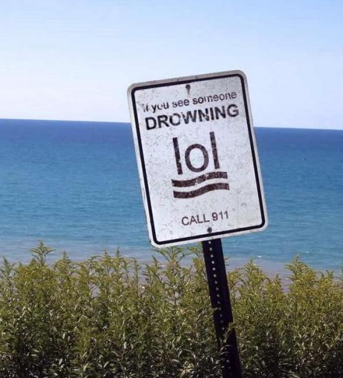 If You See Someone Drowning, LOL Bacon Call 911