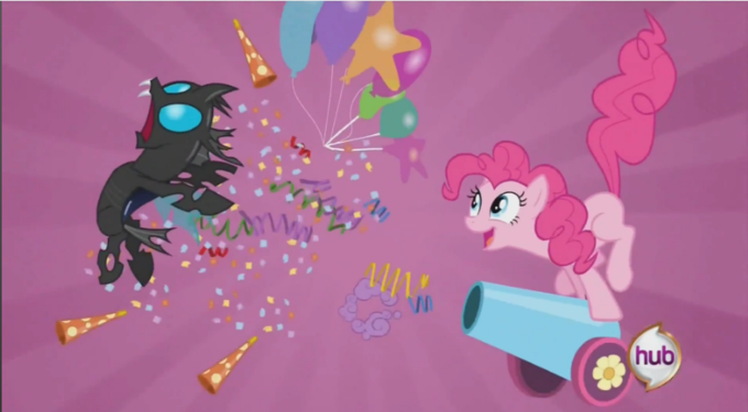 Pinkie Pie Party Cannon